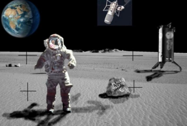 The Moon Landing Was Fake