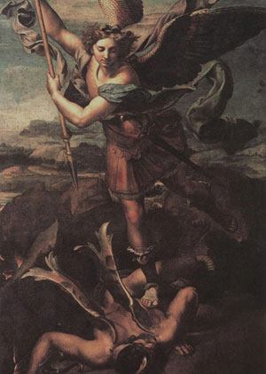 Saint Michael and the Devil