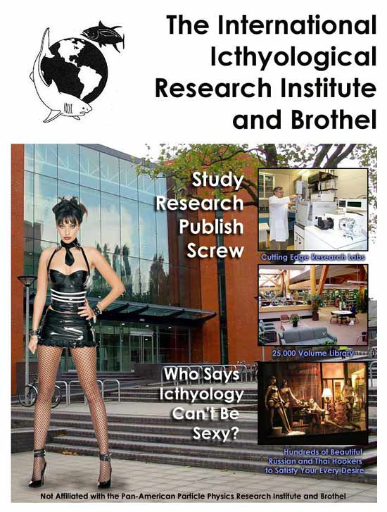 Icthyology Institute and Brothel