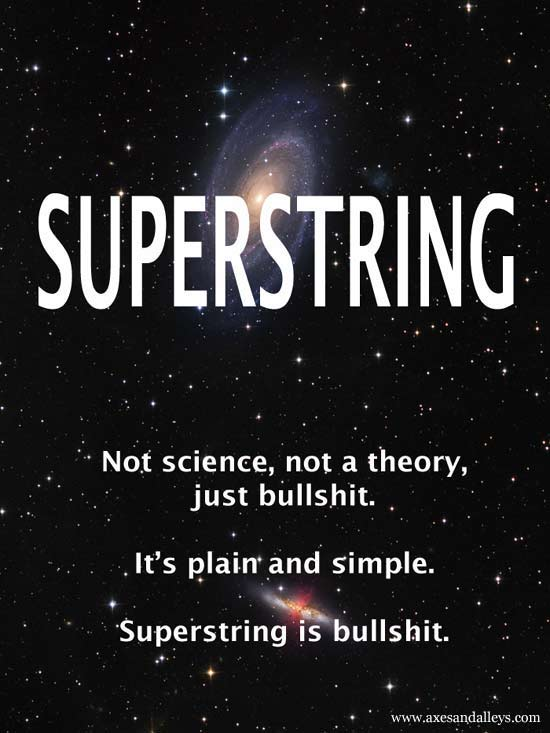 Superstring Theory is Bullshit