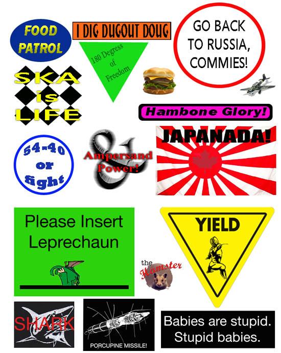 Sticker Page