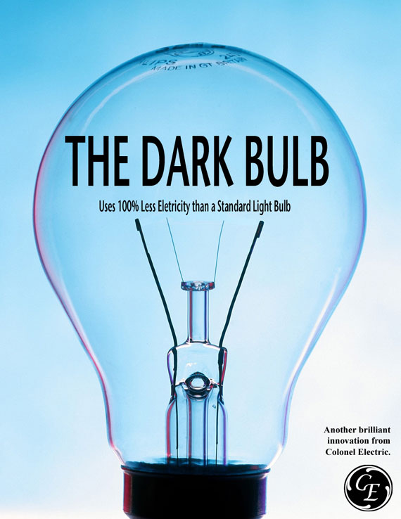 The Dark Bulb