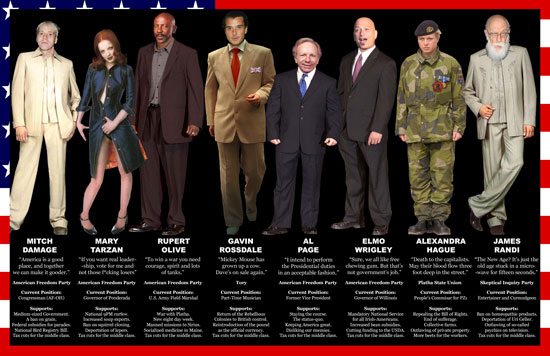 Candidates 2008