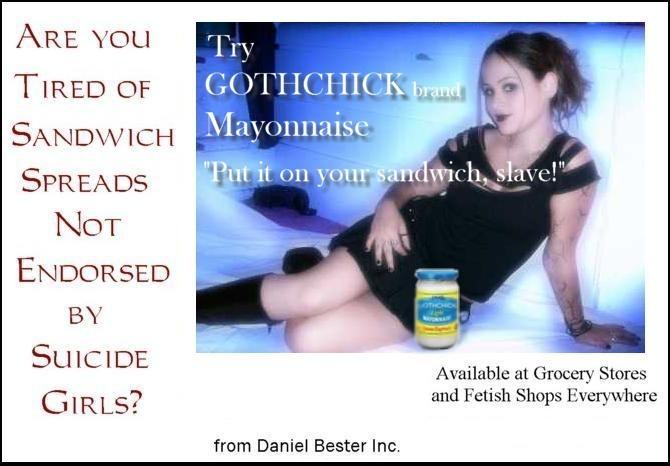 Gothchick Mayonnaise